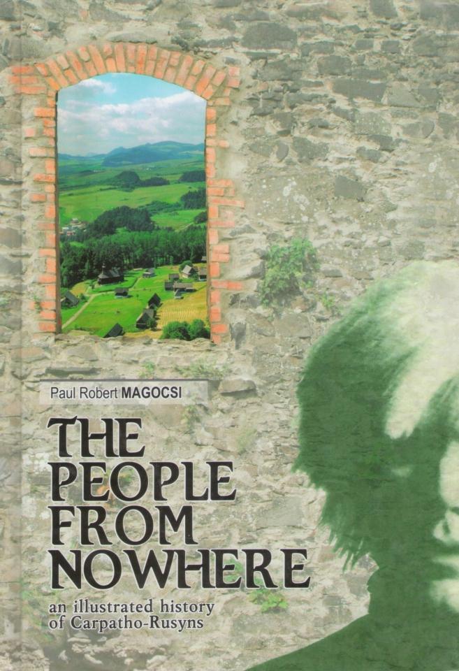 The people from no where (Národ odnikud - anglicky) - Pavel Robert Magocsi